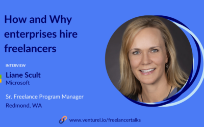 Liane Scult, How and Why Enterpises Hire Freelancers