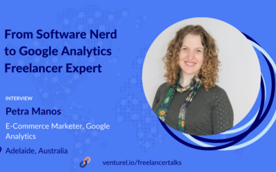 Petra Manos, From Software Nerd to Google Analytics Freelance Expert